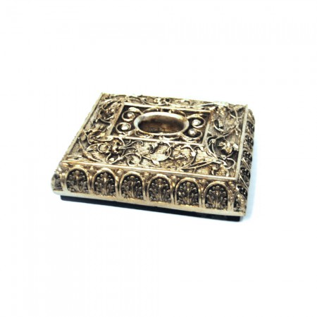 World Artisan Cello Rockstop, Spanish Jewelry Box Style Silver